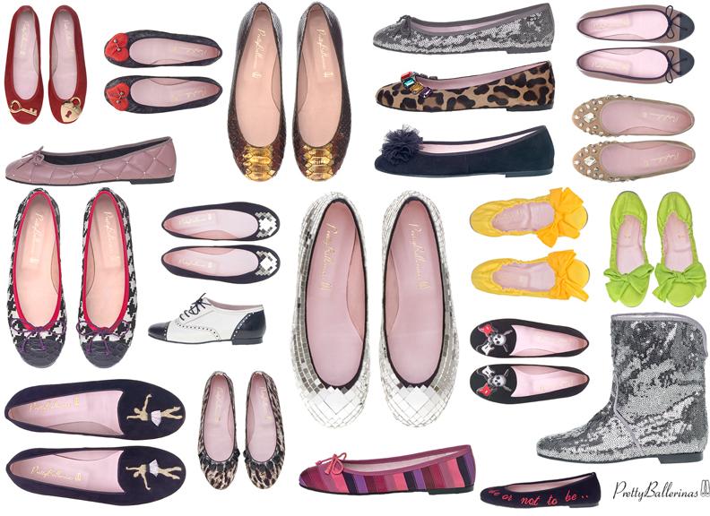 echte Schuhe suchen schön in der Farbe Pretty Ballerinas